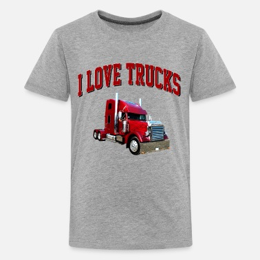 Semi Big Rig i_love_trucks - Kids' Premium T-Shirt