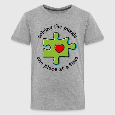 Solving The Puzzle - Kids' Premium T-Shirt