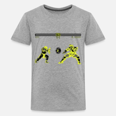 Street Fighter Ryu Hadouken Street Fighter II - Kids' Premium T-Shirt
