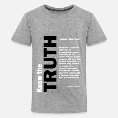 Values Human traditions - Kids' Premium T-Shirt