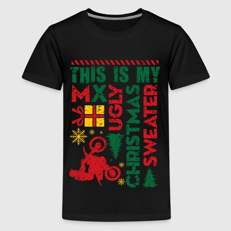 Motocross My Ugly Christmas Sweater by wbgraphix | Spreadshirt
