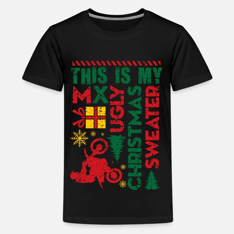 Motocross My Ugly Christmas Sweater by wbgraphix   Spreadshirt