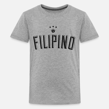 Filipino Design Filipino King - Kids' Premium T-Shirt