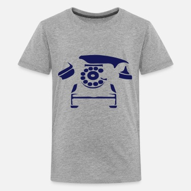 Old Phone old pink phone 6062 - Kids' Premium T-Shirt