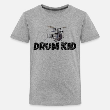 Drum Kid Funny Drummer Drums Kids - Kids' Premium T-Shirt