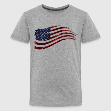 US flag  - Kids' Premium T-Shirt