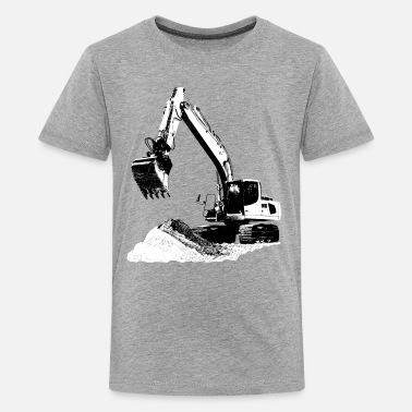 Gold Rush Excavator - Kids' Premium T-Shirt