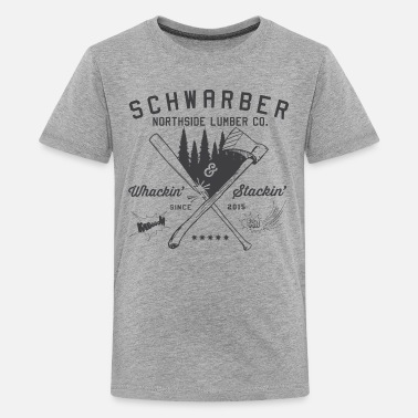 Cubs Schwarber Lumber Co - Kids' Premium T-Shirt