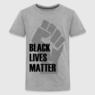Black Lives Matter Fist BLACK LIVES MATTER - Kids' Premium T-Shirt