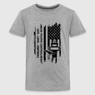 Air Traffic Controller Flag Shirt - Kids' Premium T-Shirt