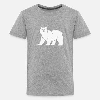 Cute Bear Logo Funny - Kids' Premium T-Shirt