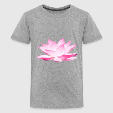 The glowing lotus - Kids' Premium T-Shirt