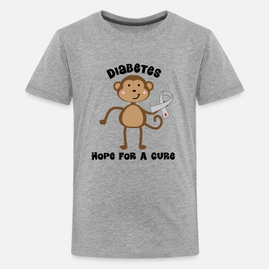 Type Diabetes Awareness Ribbon Type 1 Support - Kids' Premium T-Shirt