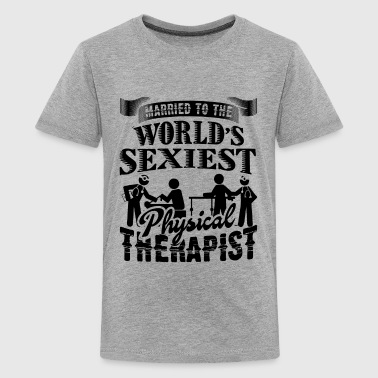 Married To The Physical Therapist Shirt - Kids' Premium T-Shirt