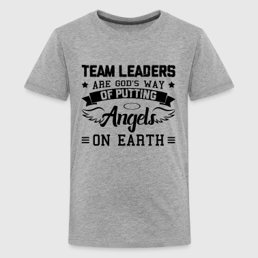 Funny Team Leader Shirt - Kids' Premium T-Shirt