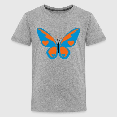 Butterfly with Love - Kids' Premium T-Shirt