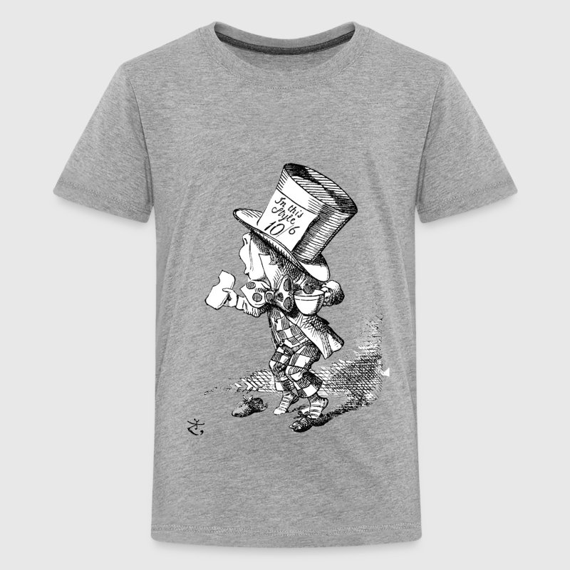 Alice in Wonderland Mad Hatter - Kids' Premium T-Shirt