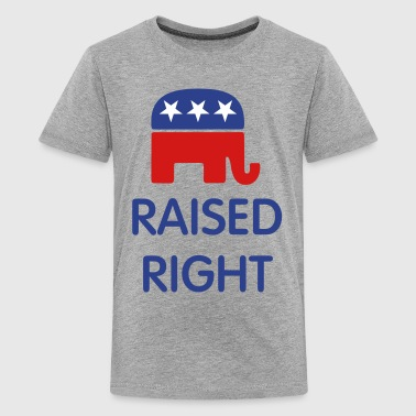 Raised Right Raised Right - Kids' Premium T-Shirt