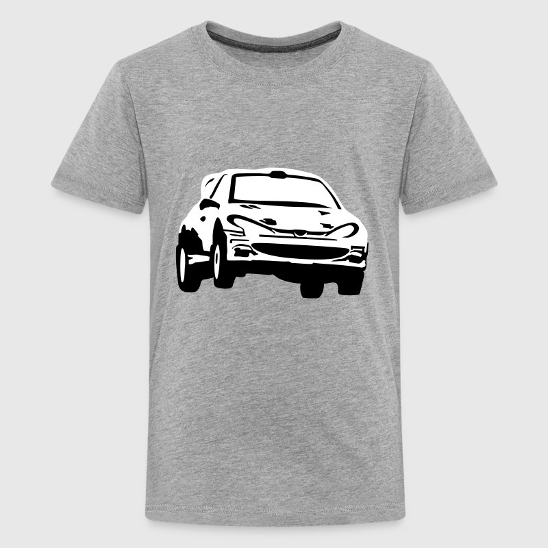 Rally car, racing car - Kids' Premium T-Shirt