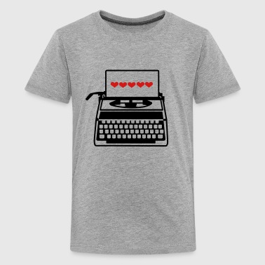 Typewriter - Kids' Premium T-Shirt