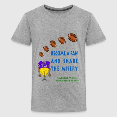 Football Fan - Kids' Premium T-Shirt