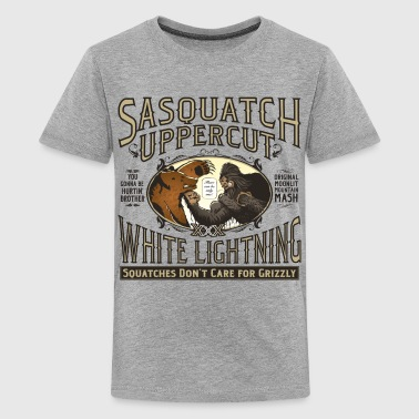 Sasquatch Uppercut - Kids' Premium T-Shirt