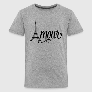 amour paris - love in french - Kids' Premium T-Shirt