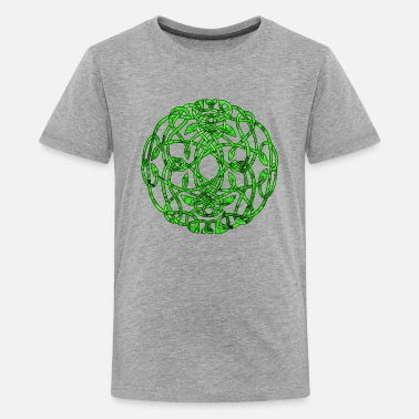 Irish Celtic Celtic Circle VII - Kids' Premium T-Shirt