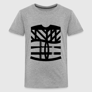 an abstract graphic tattoo - Kids' Premium T-Shirt