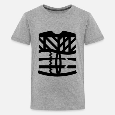 Graphic Abstract an abstract graphic tattoo - Kids' Premium T-Shirt