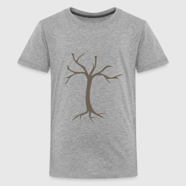 Bare Dead Tree - Kids' Premium T-Shirt