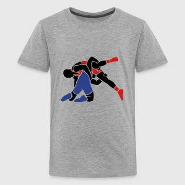 Greco-roman Wrestling wrestling throw - Kids' Premium T-Shirt