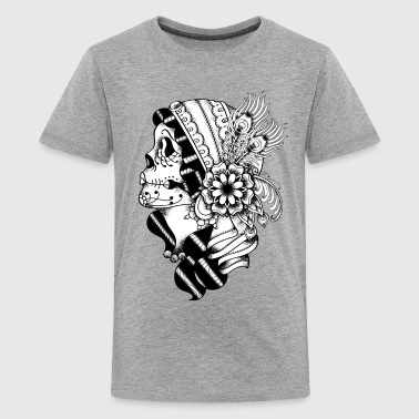 Gypsy Tattoo BW - Kids' Premium T-Shirt