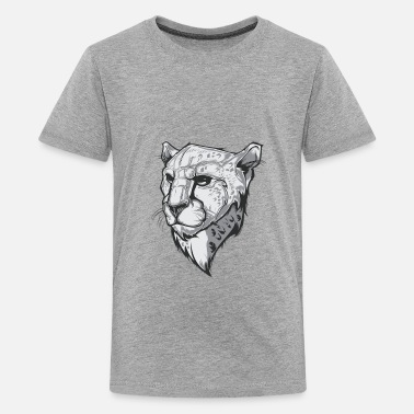 Cheetah Logo cheetah - Kids' Premium T-Shirt