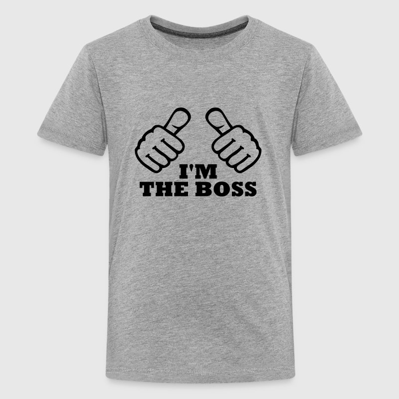 I'm the Boss - Kids' Premium T-Shirt