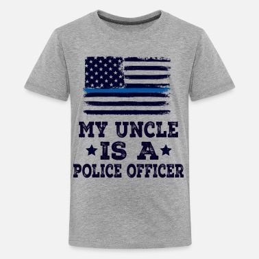 Police Officer Uncle Police Officer Uncle Gift For Nephew - Kids' Premium T-Shirt