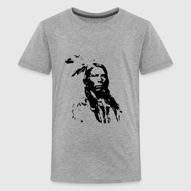 Indian Sioux Lakota Sioux Native American Indian Pride Warrior - Kids' Premium T-Shirt