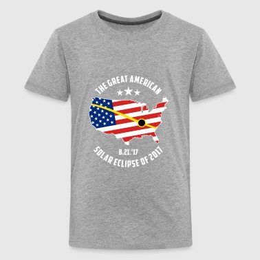 The Great American Solar Eclipse of 2017 - Kids' Premium T-Shirt