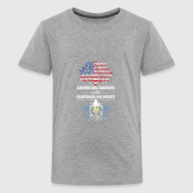American Grown with Guatemalan Roots - Kids' Premium T-Shirt