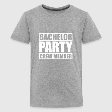 Bachelor Party Dj Party Crew Member - Bachelor Night - Kids' Premium T-Shirt