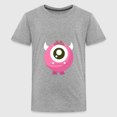 Monster Pink - Kids' Premium T-Shirt