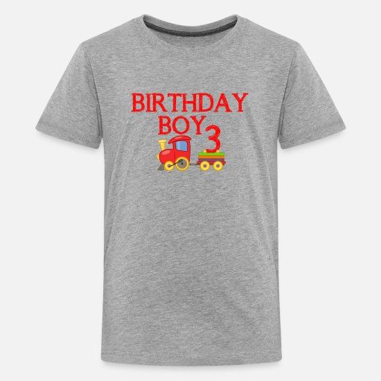 Birthday Boy 3rd Kids Premium T Shirt