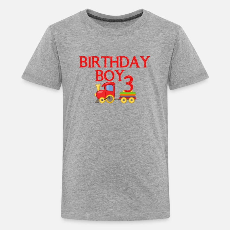 Birthday Boy 3rd Kids Premium T Shirt