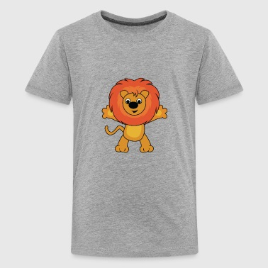 lion wilderness wildlife - Kids' Premium T-Shirt