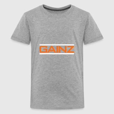 Aboard All Aboard The Gain Train - Kids' Premium T-Shirt