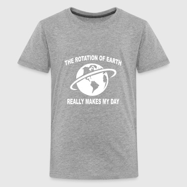 The Rotation Of The Earth The rotation of the earth - Kids' Premium T-Shirt