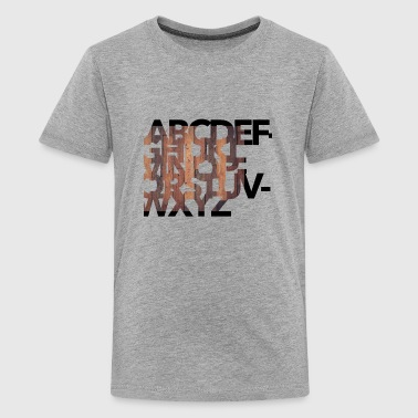 Alphabet - Kids' Premium T-Shirt