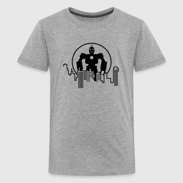 Giant Robot - Skyline - Kids' Premium T-Shirt