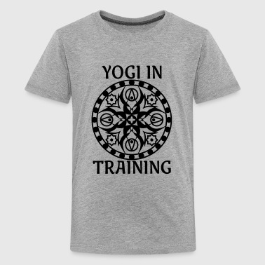 Yogi In Training - Kids' Premium T-Shirt