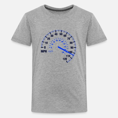 Speedometer Speed - MPH - Racing - Speedometer - Kids' Premium T-Shirt
